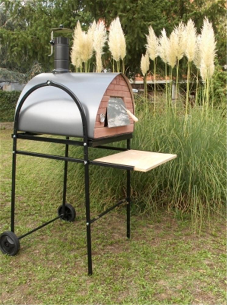 carrello per forno da pizza tom press. Black Bedroom Furniture Sets. Home Design Ideas