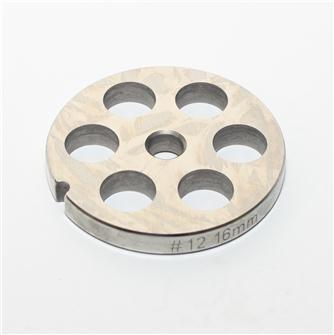 Piastra 16 mm inox per tritacarne n.12