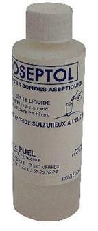 Liquido asettico per tappi