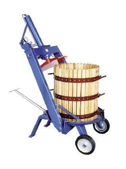 Torchio idraulico manuale a staffa, 327 l