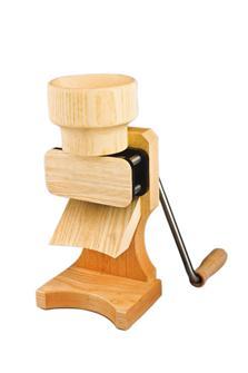 Macchina per fiocchi di cereali manuale in legno