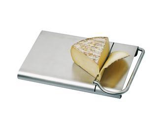 Vassoio con lama in inox per taglio formaggio
