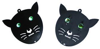Dissuasore per volatili, forma testa di gatto