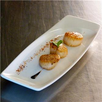 Ricetta noci di Saint Jacque dello chef Tenailleau