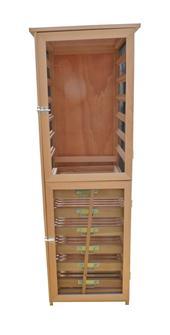 Porta frutta/verdura alto, 12 spazi