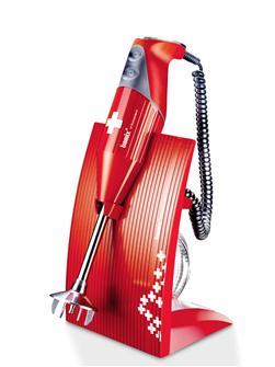 Mixer a immersione BAMIX Swissline 200W rosso