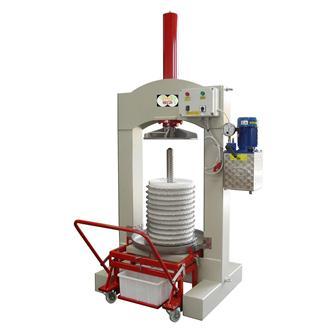 Torchio elettrico idraulico per olive, 60 kg/h