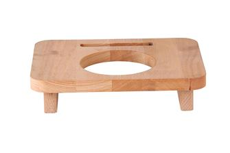 Supporto in legno 10 cm