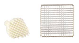 Griglia e spingitore 6 mm per taglia patatine prof