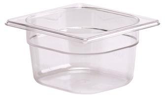 Bacinella per alimenti senza BPA GN 1/6 h. 10 cm copoliestere