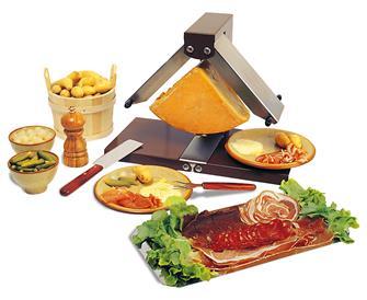 Raclette con 2 spazi