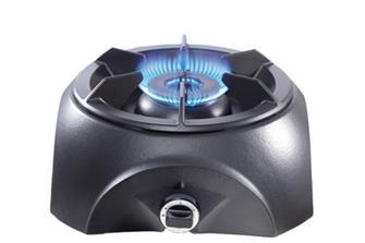 Fornello a gas in ghisa con doppio bruciatore 9500 W