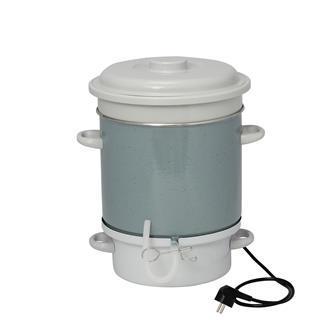 Estrattore a vapore elettrico smaltato per succo