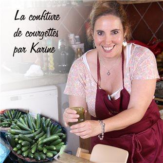 Ricetta di Karine per la confettura di zucchine
