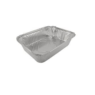 100 vaschette alluminio 2 kg