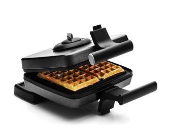 Piastra per waffle (2) 15x9 cm con 2 termostati per una cottura simultanea
