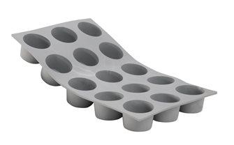 Stampo silicone 15 mini muffins