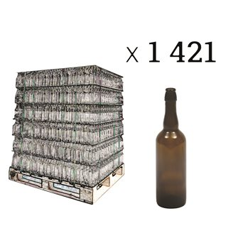 Bancale 1421 bottiglie per birra