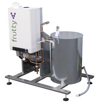 Pastorizzatore a gas per succo 250 l/h