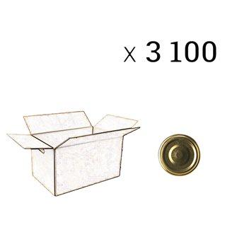 Coperchi diametro 43 mm (3100 pezzi)