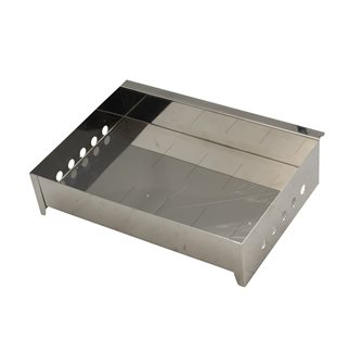 Cassetto per affumicatore inox polivalente (carne e pesce) Tom Press