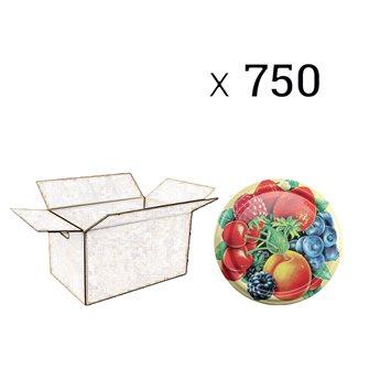 Capsule twist off 82 mm decoro frutti (750 pz.)