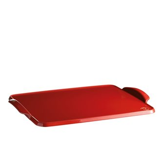 Teglia forno ceramica Emile Henry rosso Grand Cru