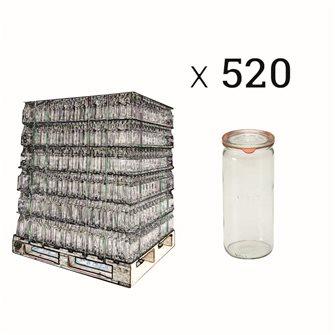 Vaso Weck 1 litro speciale asparagi bancale da 520 pz