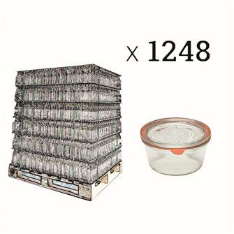 Vasetti Weck 290 ml diametro 100 bancale da 1248 pz