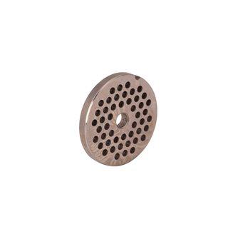 Piastra fori 4,5 mm per tritacarne elettrico REBER n.8 inox