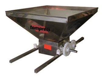 Pigiatrice uva manuale inox Tom Press 90x60