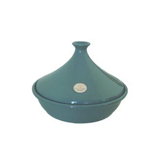 Tajine ceramica blu laguna 32 cm per 6-10 persone Emile Henry