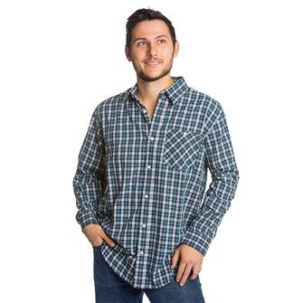 Camicia uomo blu a quadrettti Bartavel Toscana L