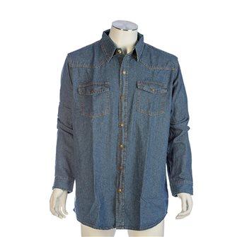Camicia di jeans look western Bartavel Scott XL