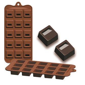 Stampo 15 cioccolatini in silicone