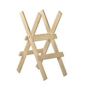 Cavalletto taglio legna 2 supporti