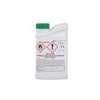 Soluzione idroalcolica 1 l per disinfettare le superfici