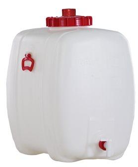 Cisterna rettangolare per alimenti. 150 l.