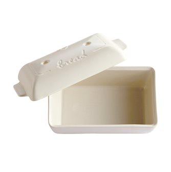 Stampo pane 28x15 cm ceramica bianca Emile Henry